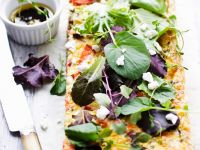 Fish Tartlet with Leaves recipe