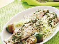 Fish with Asian Vinaigrette recipe