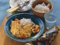 Fish with Curried Vegetables recipe