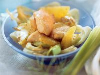 Fish with Fennel, Oranges and Pine Nuts recipe