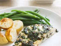 Fish with Herb Crust recipe