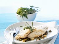 Fish with Lime and Caper Butter recipe
