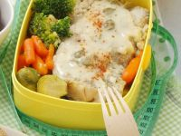 Fish with Rice and Vegetables recipe