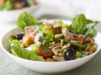 Flaked Fish and White Bean Bowl recipe