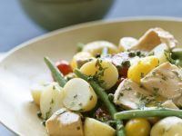 Flaked Tuna and Potato Salad recipe