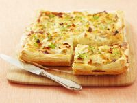 Flaky Pastry Tart with Soft Cheese recipe