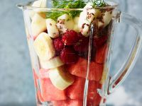 Flaxseed Fruit Smoothie recipe