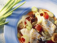 Fllets of Perch with Fennel and Tomato recipe