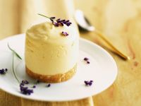 Floral Citrus Pudding Cake recipe
