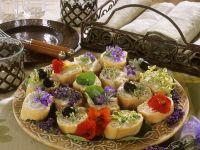Floral Crostini recipe