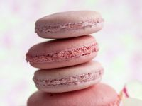 Floral Pink Macarons recipe