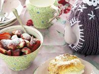 Floral Teatime Scones recipe