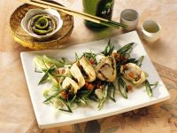 Flounder Rolls with King Prawns recipe