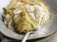 Flowering Zucchini Bake recipe