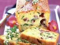Flowery Zucchini Loaf recipe