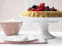 Fluffy Berry Pie recipe