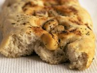 Roasted Garlic and Rosemary Italian Bread recipe