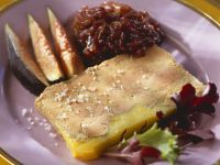 Slice of Terrine with Compote and Figs recipe