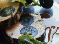 Foie Gras with Grapes recipe