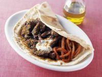 Folded Lamb Khubz recipe