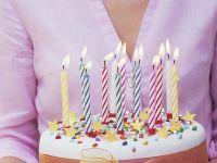 Fondant-coated Birthday Torte recipe