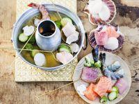 Fondue with Fish recipe
