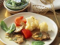 Fondue with Lamb and Vegetables recipe