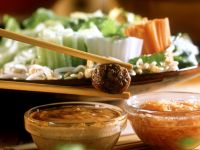 Fondue with Meatballs recipe