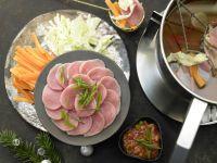 Fondue with Pork recipe