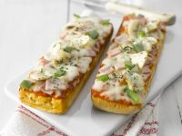French Bread Pizzas recipe
