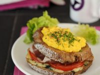 French Ham and Egg Sandwich recipe
