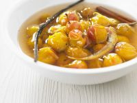 French Stone Fruit Stew recipe