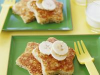 French Toast Stars recipe