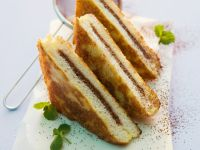 French Toast with Chocolate Filling recipe
