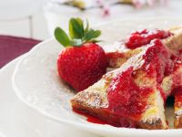 French Toast with Fresh Strawberry Jam recipe
