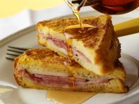 French Toastie with Ham and Cheese Filling recipe