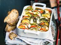 French Vegetable Tian with Cheese recipe