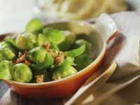 Fresh Brussel Sprouts with Bacon recipe