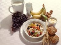 Fresh Fruit and Cereal Bowl recipe