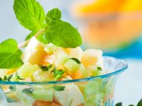 Fresh Herb and Melon Salad recipe