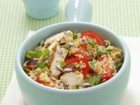 Fresh Herb and Veggie Grain Bowls recipe