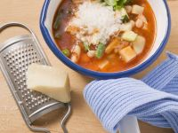 Fresh Minestrone Soup recipe
