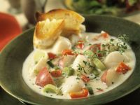 Fresh Scallop Chowder recipe