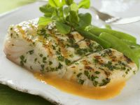 Freshly Cooked Halibut recipe
