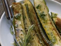 Freshly Soaked Zucchini recipe
