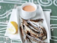 Fried Anchovies recipe