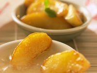 Fried Apples with Caramel Sauce recipe