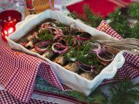 Fried Baltic Herring in Marinade recipe