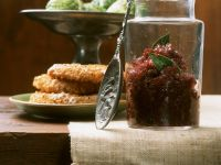 Fried Celery Root with Red Onion Jam recipe