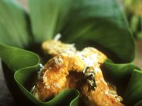 Fried Chicken with Coconut Curry Sauce recipe